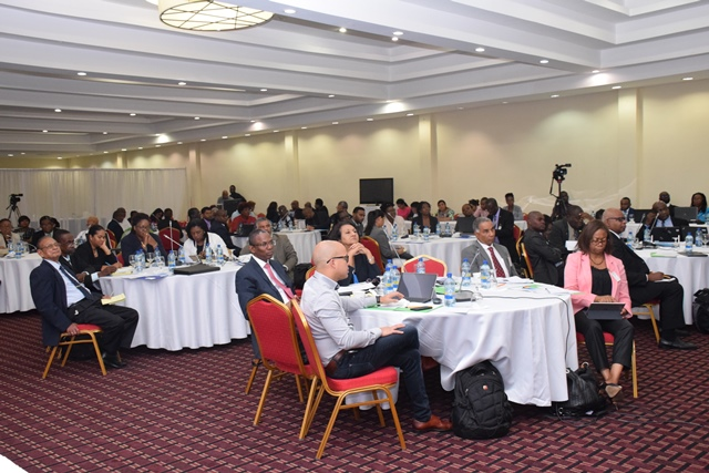 State and non-state participants at the CSME consultation.