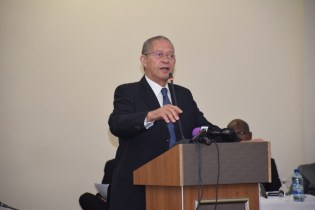 Former Prime Minister of Jamaica Bruce Golding.