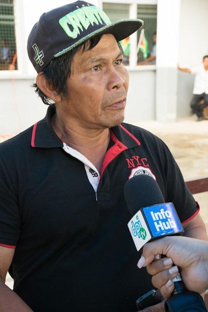 Toshao of Assakata, Peter Joseph.
