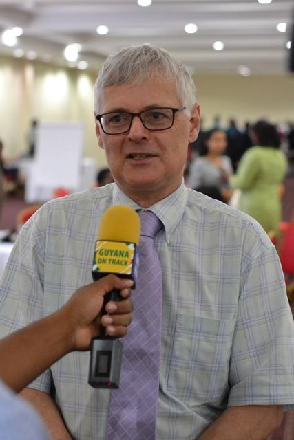 Dean of Education at St. Francis Xavier University, Dr. Jeffrey Orr.