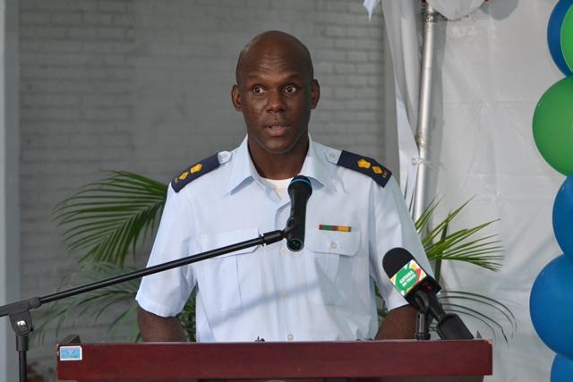 Director General (ag) of the Civil Defence Commission (CDC), Lt. Col. Kester Craig.