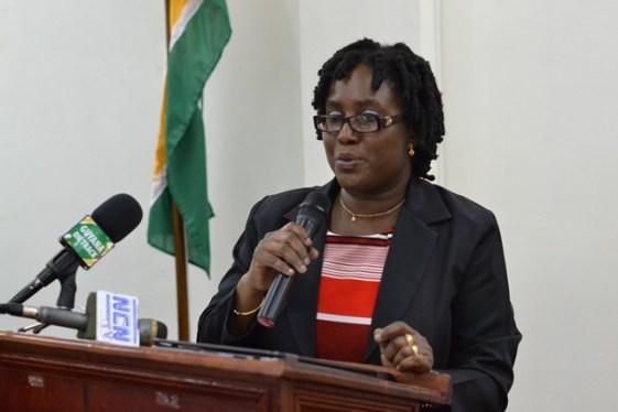 Director of the Guyana National Bureau of Standards, Candelle Walcott-Bostwick.