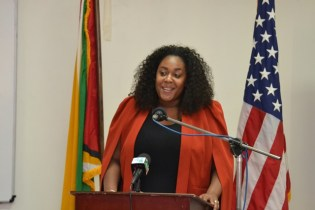 US embassy Political and Economic Chief, Alexandra King.