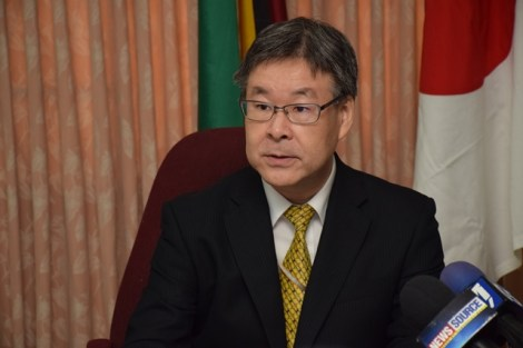JICA Chief Representative, Tetsuhiro Ike.