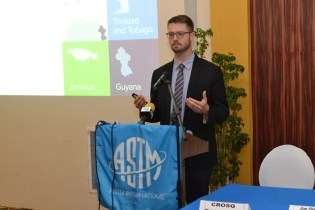 ASTM International representative, Travis Murdock.