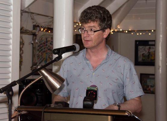 British High Commissioner to Guyana, James Gregory Quinn