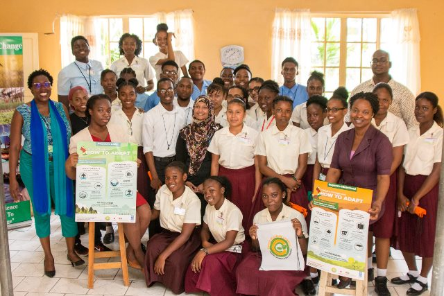 Climate Change Awareness sessions in schools across Guyana.