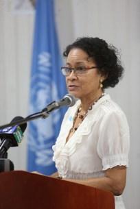 UNICEF representative, Michelle Rodrigues.