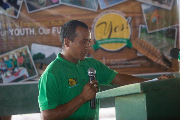 Rockcliffe Rodrigues, young entrepreneur of Aranaputa, Region Nine