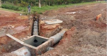 Linking with existing drains