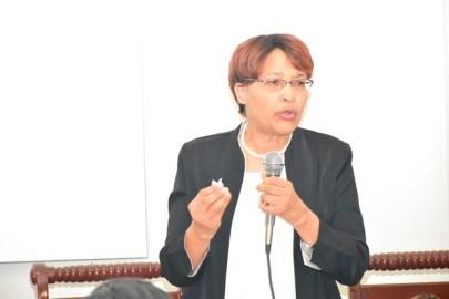 Secretary-General, CTU, Bernadette Lewis