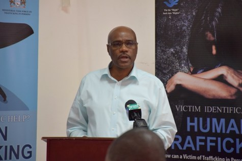 Director of the Compliance Unit, Ministry of Natural Resources,Derrick Lawrence.