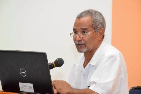 Region Seven (Cuyuni-Mazaruni ) Regional Health Officer, Dr. Edward Sagala
