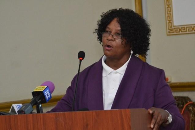 Former principal of Kuru Kuru Co-operative College, Myrtle Richards.