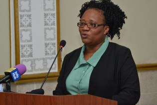Chief Co-operative Development Officer, Perlina Gift.
