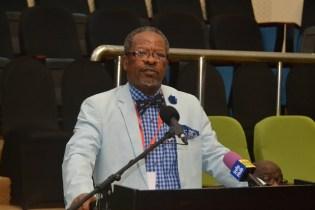 Vice-Chancellor and Principal at the University of Guyana (UG), Professor Ivelaw Griffith