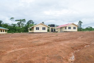 The new primary and nursery schools located at the new zone in Baramita.