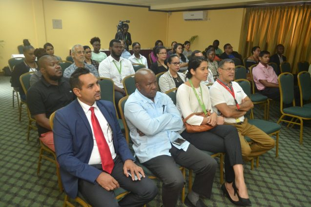 President of THAG, Mitra Ramkumar, Director-General of Department of Tourism, Donald Sinclair and other stakeholders at the launch of the South American Undiscovered Website.