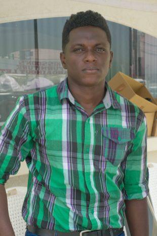 Crop Extension Officer, Kenyatto Layne