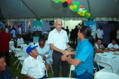 Minister of Communities, Ronald Bulkan greeted Toshaos and Senior Councillors.