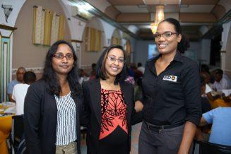 Director of El Dorado Offshore, Natasha Jairam-Abai, and her team