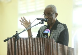 Chairman of the Guyana Elections Commission (Retd.) Justice James Patterson