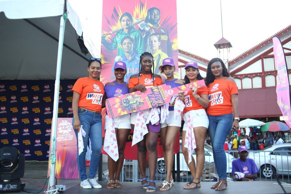Ambassadors for the Women's T20 Cricket World Cup Campaign