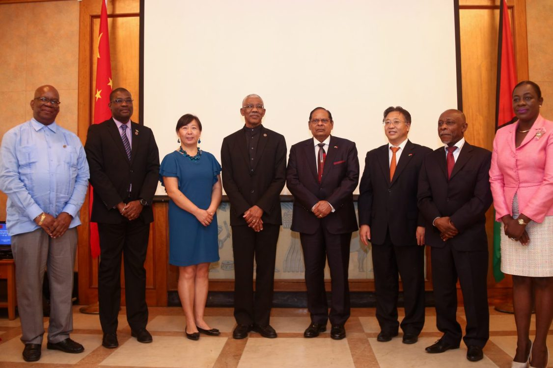 President Granger, Prime Minister Nagamootoo and Ministers of Government