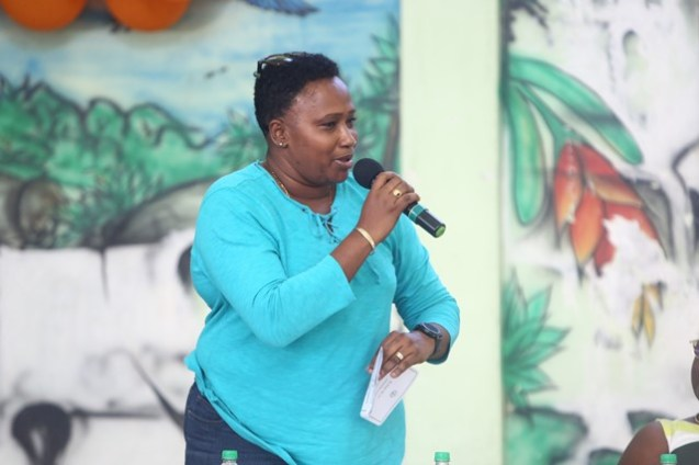 Minister within the Ministry of Public Infrastructure, Annette Ferguson.