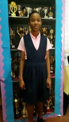Somira Dainty, who scored 519 marks which gained her entry to Queen's College.