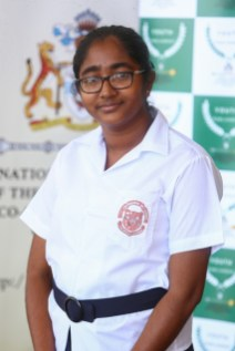 Best Speaker at the 4th Youth Parliament, Arifa Ahsidally, Shadow Minister of Education