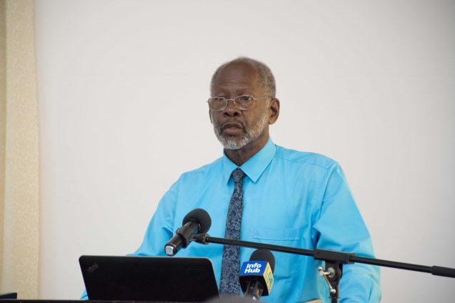 Former Commissioner of the Guyana Geology and Mines Commission (GGMC), William Woolford
