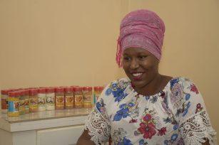 Owner of Diekah's Spices, Rodiek-ah DeFreitas