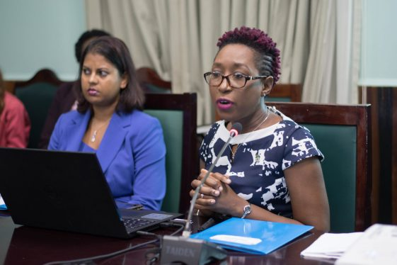 Head of Office of Climate Change (OCC), Janelle Christian