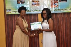 Scenes at the Fourth National Youth Awards ceremony