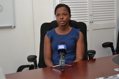 JSL International HSE's Officer, Nkasse Evans