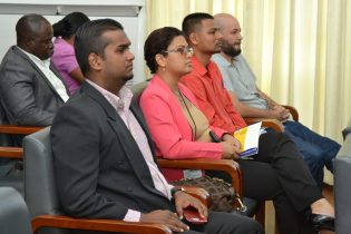 Stakeholders at the Symposium on Broadband and International Mobile Telecommunications