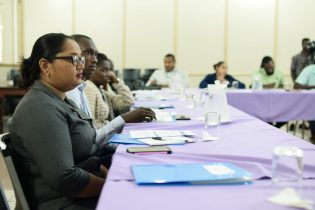 Participants at the Inception Workshop on Climate Resiliency