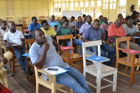 Lecturers/Instructors of technical institutes present at the workshop