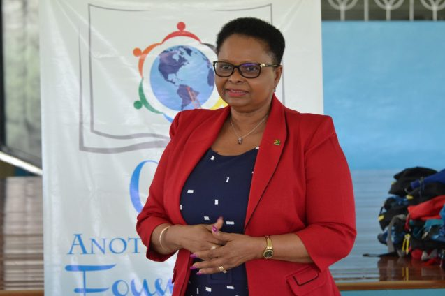 Minister of Public Health, Volda Lawrence