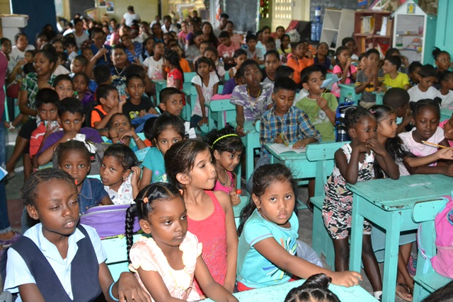 Children who participated in the camp