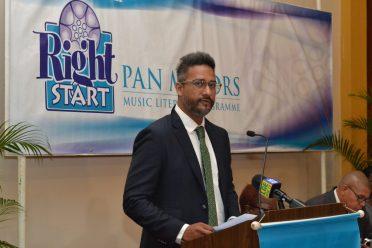 Managing Director of Republic Bank (Guyana) Limited, Richard Sammy