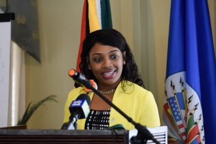 Permanent Secretary of the Ministry of Social Cohesion with responsibility Culture, Youth and Sport, Melissa Tucker
