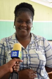 Community Development Officer, Ituni, Keisha Griffith
