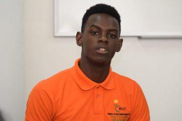 Youth Ambassador, Shaquawn Gill