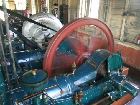 The soon-to-be replaced Mora Point Pumps which will be preserved as historic artifacts