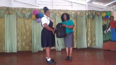 Azaniah Hopkinson earned 450 marks