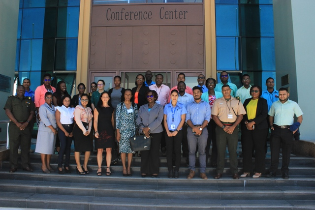 Participants at the Country Work Programme (CWP) Workshop.