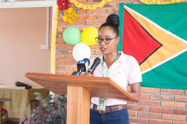 President of Kuru Kururu Small Business Association, Sasha Morrison