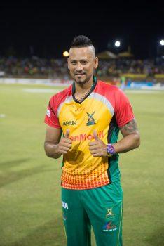 Man of the Match, Rayad Emrit